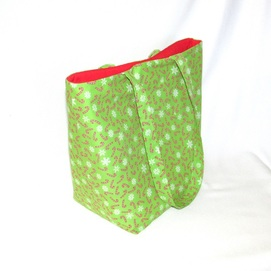 Green Candy Cane Bag